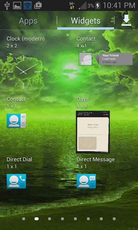 green weather live wallpaper android apps on google play