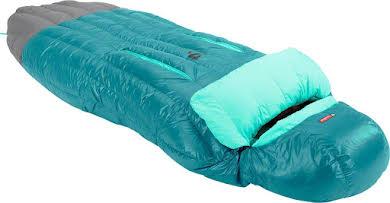 NEMO Rave 15 Women's Sleeping Bag, 15F, 650fill Power Down with Nikwax, Jade/Sea Glass, Regular alternate image 0