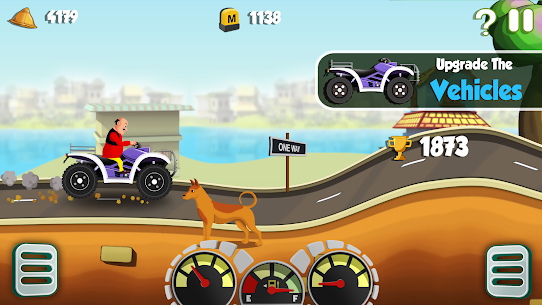 Motu Patlu King of Hill Racing 8