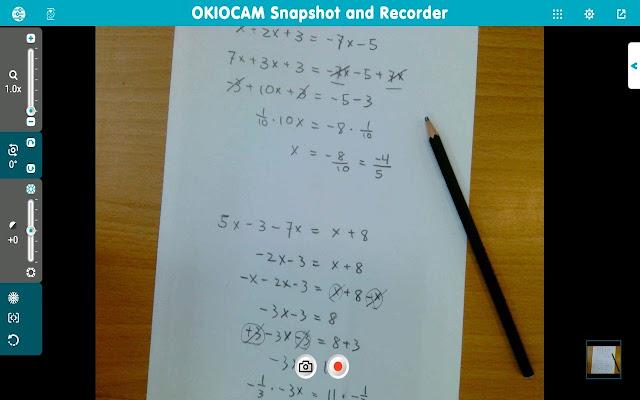 OKIOCAM Snapshot and Recorder