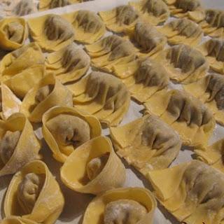 Mock Beef (Soy Protein) Dumplings