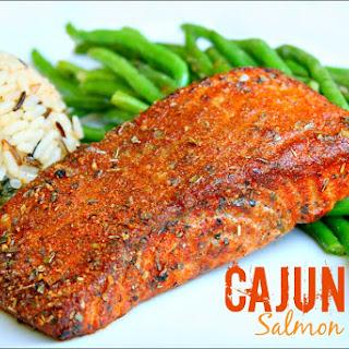Cajun Spiced Salmon.