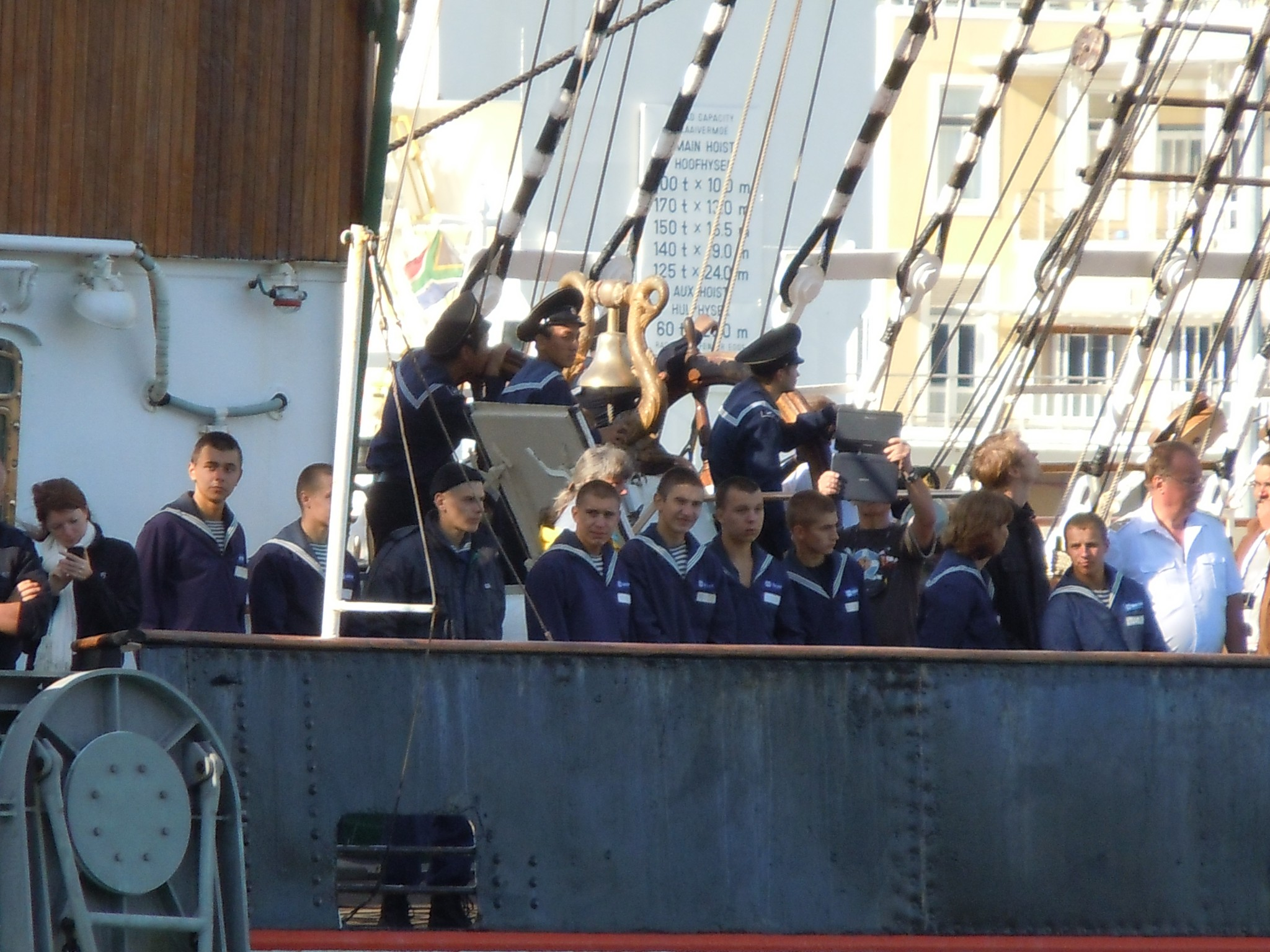 Photo: Sedov's cadets