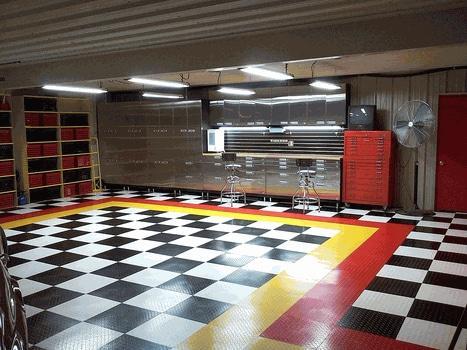 Garasi dengan Material Stainless Steel - sumber: www.carguygarage.com