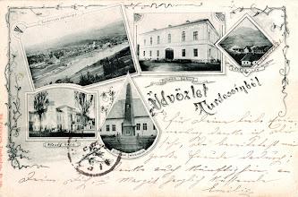 Photo: Pohľadnica z Tvrdošína z roku 1904.