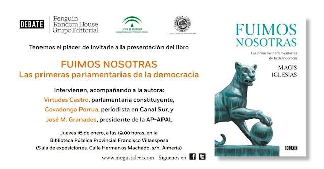 Invitación a la presentación de este jueves.
