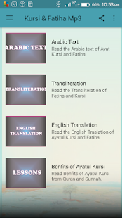Kursi & Fatiha Mp3 - náhled