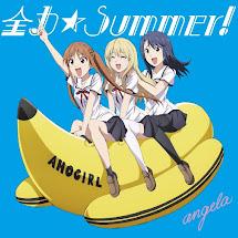 Aho Girl OP Single – Zenryoku☆Summer!
