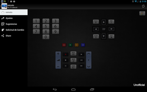 Remoto para televisor Samsung screenshot 7