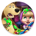 Masha and the Bear : game play icon