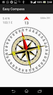 Easy Compass- screenshot thumbnail