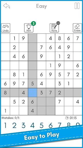 Sudoku King™ - Free Sudoku Puzzles 1.2 screenshots 1