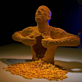 Lego Heart by Sim Kim Seong - Artistic Objects Toys