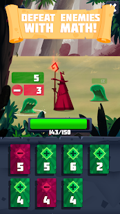 Arithmagic - Math Wizard Game Screenshot