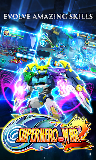 Superhero War: Robot Fight - City Action RPG screenshots 8