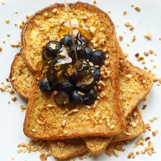 French Toast with Blueberry.