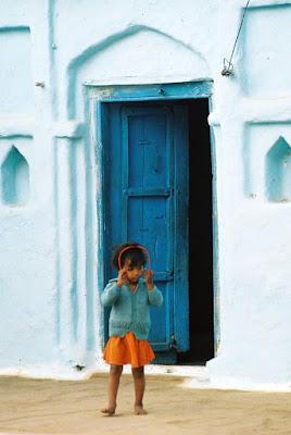 La porta blu di paolo-spagg