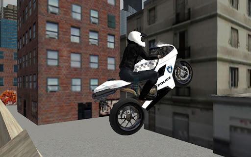 Police Moto Bike 3D