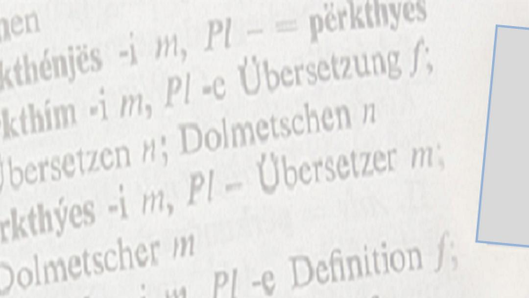 übersetzer Für Albanisch In München Albanisch Deutsch