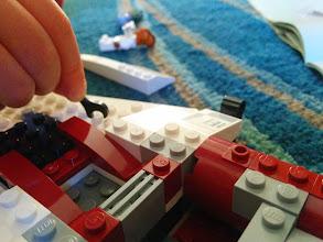 Photo: Finn Repairs His A-Wing