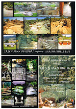 Photo: Green Man builders Large business card.