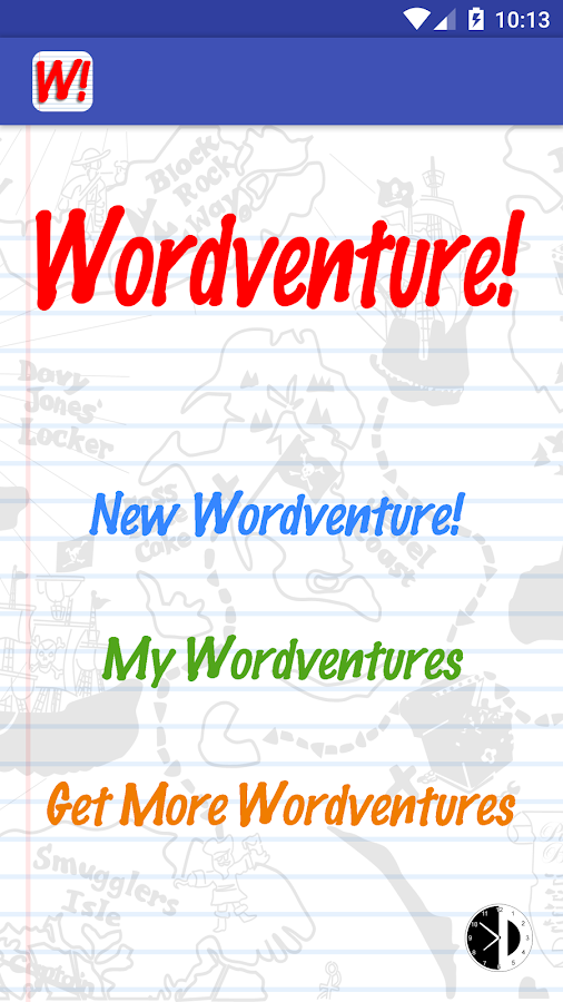 Wordventure!- screenshot
