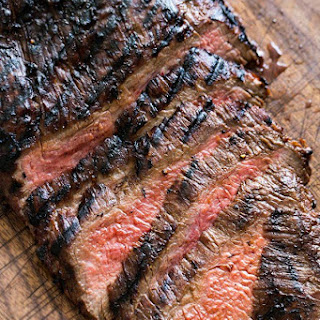 Grilled Marinated Flank Steak.