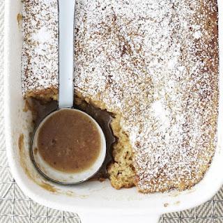 Hazelnut Butterscotch Pudding Cake Recipe