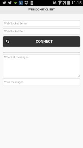 WebSocket client