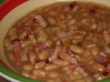 Baked Beans, Aldine Hotel Style Recipe
