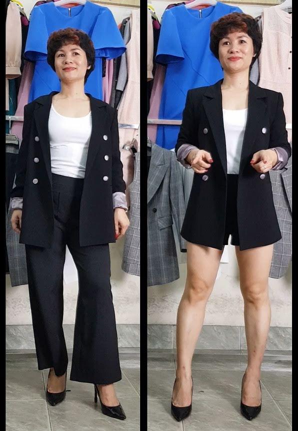 4 cách Mix đồ áo Vest nữ với quần Short thời trang thuỷ đà nẵng