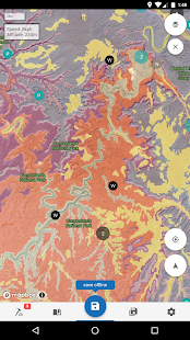 Flyover Country - trip map – Miniaturansicht des Screenshots