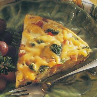 Deep Dish Antipasto Pizza