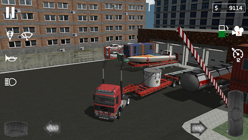 Cargo Transport Simulator  captures d'écran 2