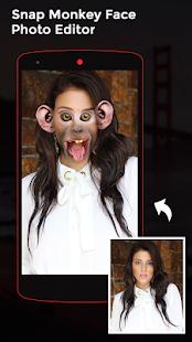Snap Monkey Face Photo Editor - náhled