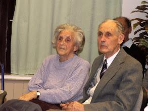 Photo: idős lelkipásztorunk Korvin János feleségével, Katalinnal