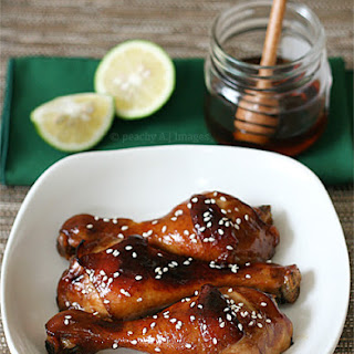 Lime and Honey-Maple Glazed Chicken
