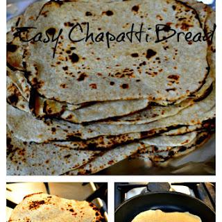 Chapatti Bread – Super Easy Recipe