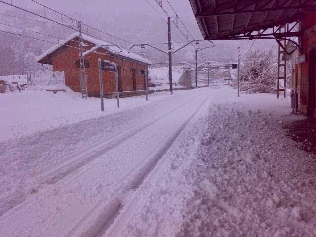 Estación de tren de La Pola de Gordón (León)