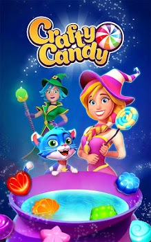 Crafty Candy – Match 3 Magic Puzzle Quest