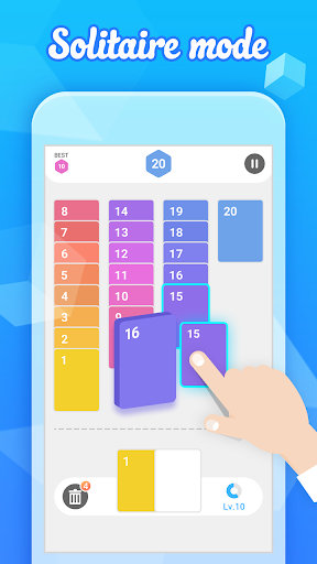 Merge 7 - Easy Number Puzzle Game 2.6 de.gamequotes.net 1