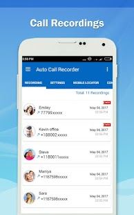 Auto Call Recorder PRO Screenshot