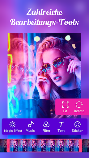 Video.me – Video-Editor, Video-Maker, Effekte screenshot 2