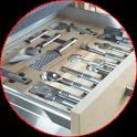 kitchen storage solutions icon