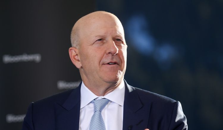 Goldman Sachs CEO David Solomon. Picture: SIMON DAWSON/BLOOMBERG