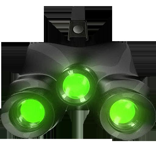 Night Vision Camera Simulated