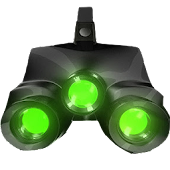 Night Vision Camera Simulated