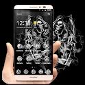Skull Grim Reaper Smoke Theme icon
