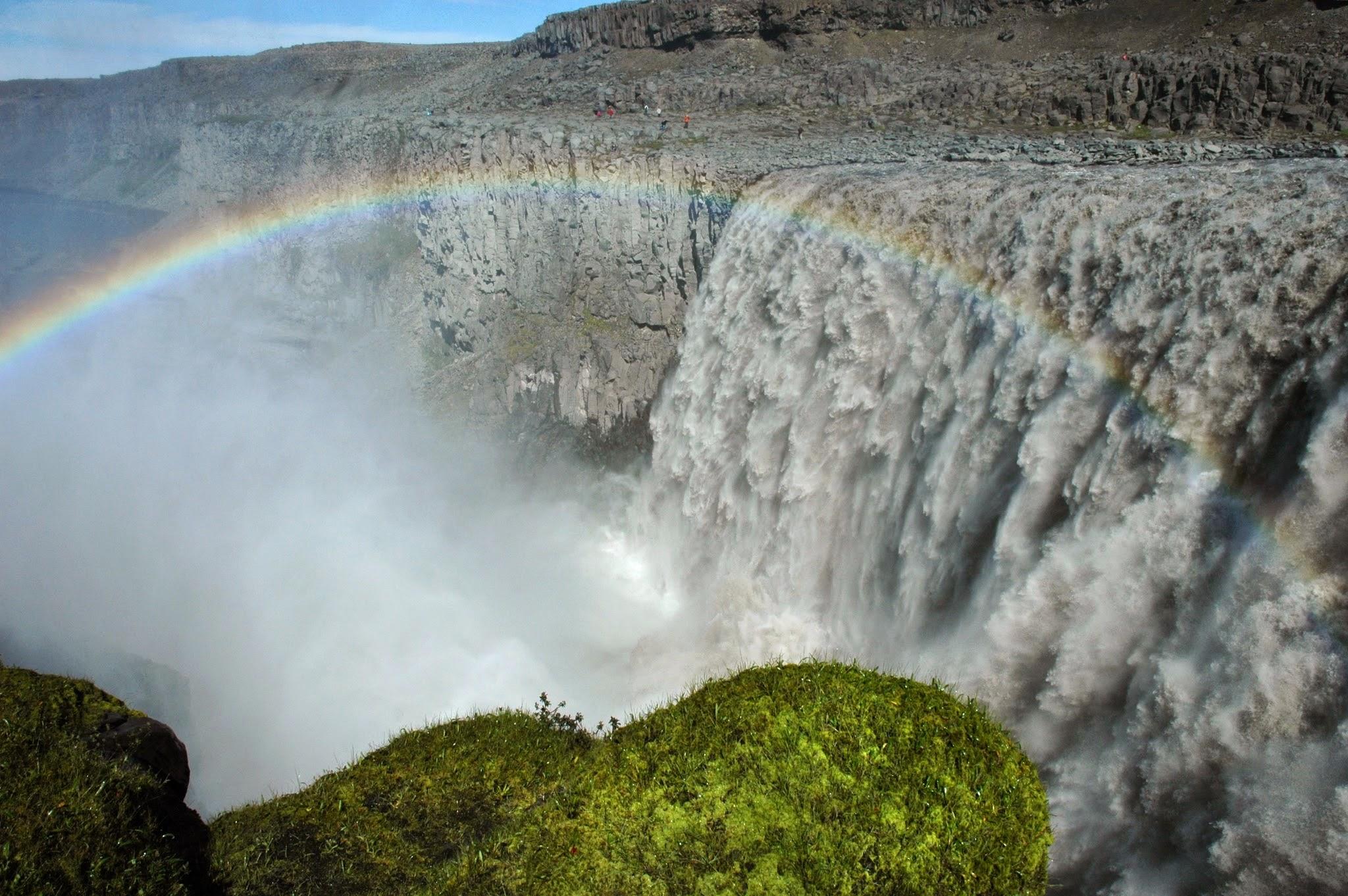 Photo: La cascata di Dettifoss, Islanda. 9 luglio 2008 (© Paolo Cortini) www.90est.it