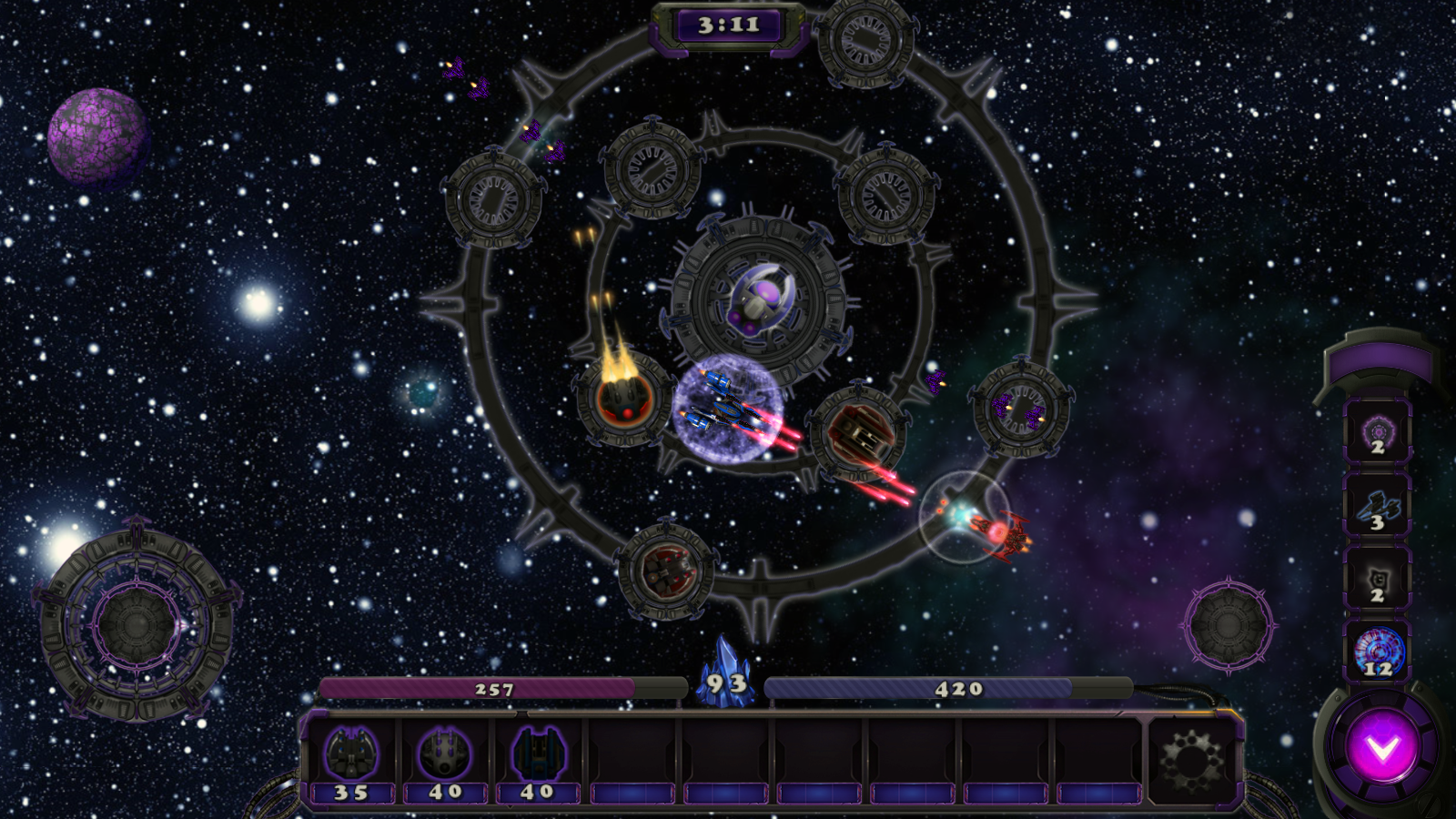 Orbital TD- screenshot